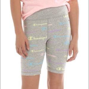 NEW CHAMPION Girls Biker Shorts